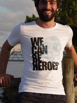 Heroes Homme manches courtes